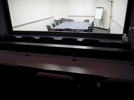 Big Sur client observation room